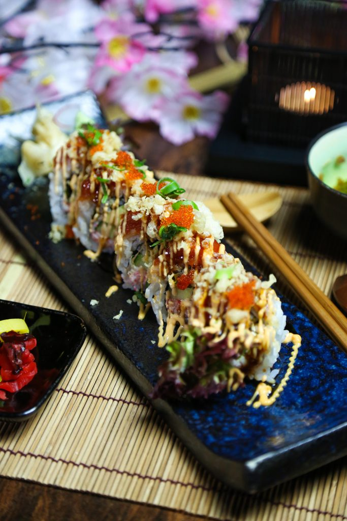 spicy tuna crunchy roll (2)
